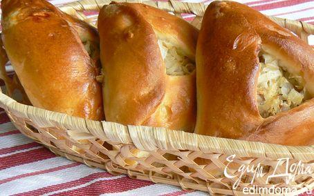 Рецепт Расстегаи с капустой и фаршем