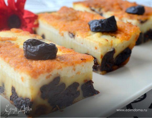 Бретонский черносливовый пирог