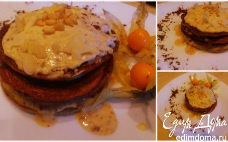 Рецепт Сметанное панкейк-пирожное