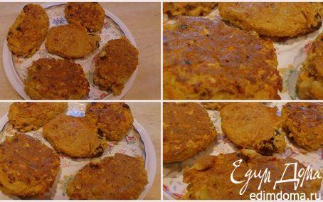 Рецепт Морковно-яблочные оладьи