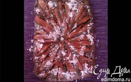 Рецепт Маково-кокосовый пирог с грушами