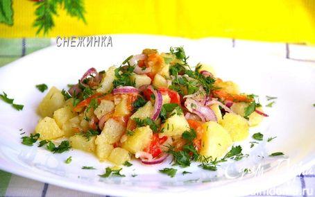 Рецепт Салат «Золотая осень» из печеных овощей. «HomeQueen Corporation»