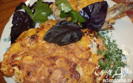 Рецепт Курица в панировке из кукурузных хлопьев