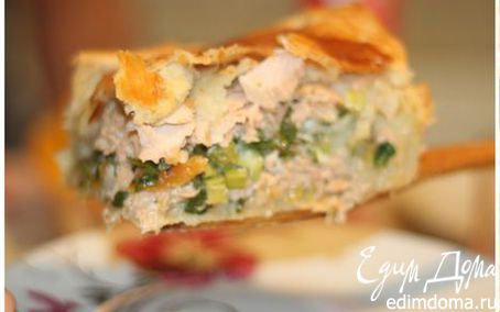 Рецепт Рыбный пирог