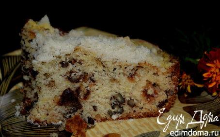 Рецепт Кекс с финиками и орехами (Date Crumb cake)