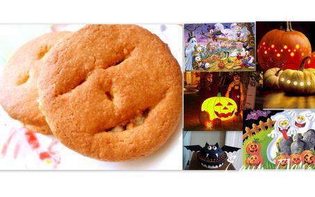 Рецепт печенье с творожной начинкой для Halloween