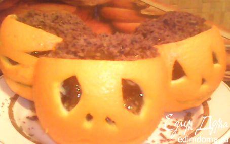 """Рецепт Апельсиновые """"Фонарики Джека"""" для Halloween"""
