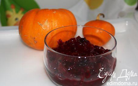 Рецепт Варенье из тыквы и черной смородины