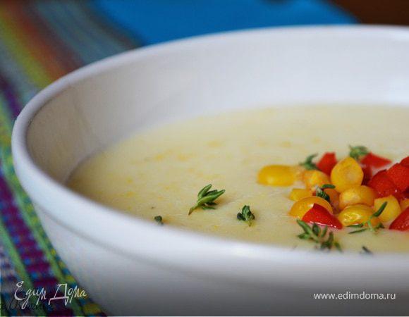Кукурузный крем-суп