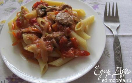 Рецепт Пенне с мясной подливой
