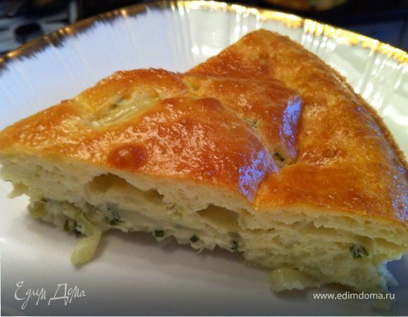 заливной капустный пирог