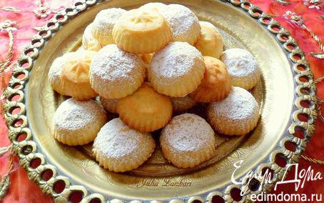 Рецепт Маамуль (арабское печенье с финиками и орехами)