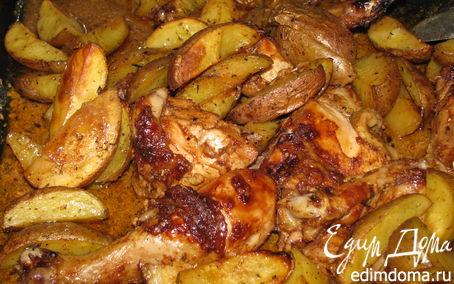 Рецепт Курочка с картофелем