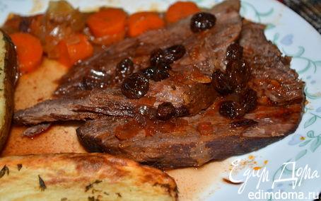рецепт мультиварка мясо с подливой