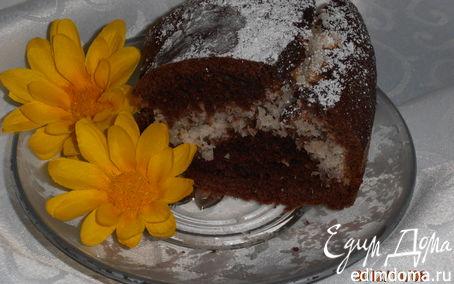 Рецепт Шоколадный торт с кокосовым сердцем
