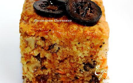 Торт с грецкими орехами и изюмом рецепт
