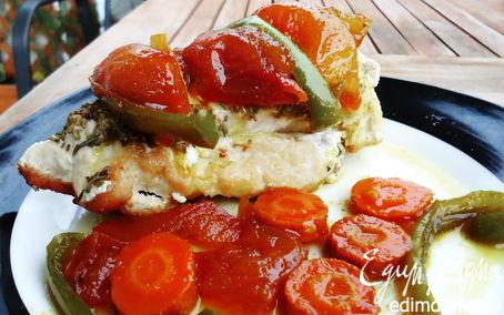 Рецепт Сочная курочка с овощными цукатами