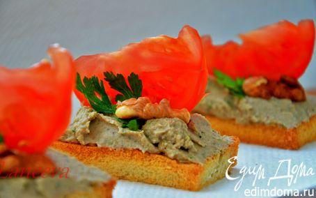 Рецепт Баклажановый паштет