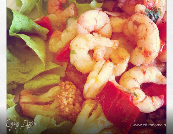 Среднеземноморский салат на ужин) Рецепты из Путешествий