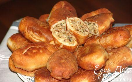 Рецепт Назад в СССР: Жареные пирожки с требухой