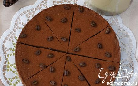 Рецепт Нежный десерт от Мишель (Mocha Prunes Cheesecake)