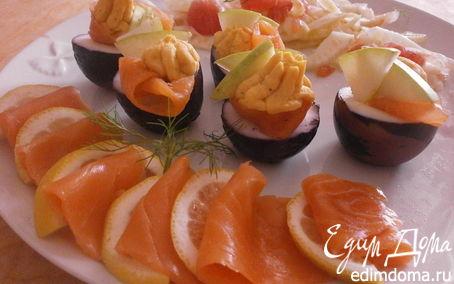 Рецепт Закуска из яиц, маринованных в вине