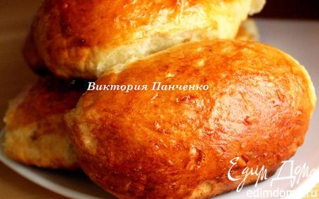 Рецепт Пирожки с тыквой (способ формовки)