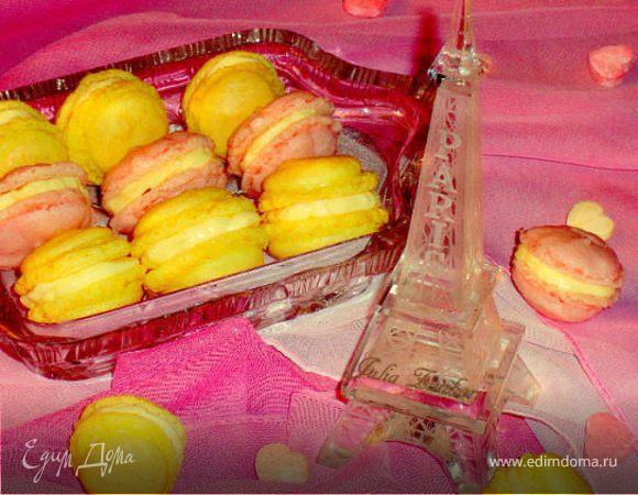 Французское миндальное безе (Macarons)