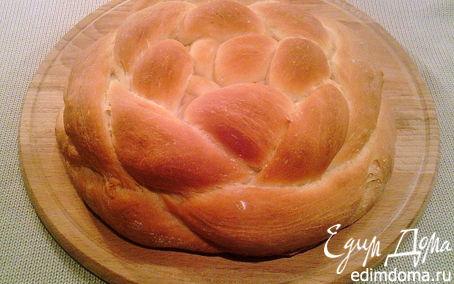 """Рецепт Творожный хлеб """"Плетенка"""""""
