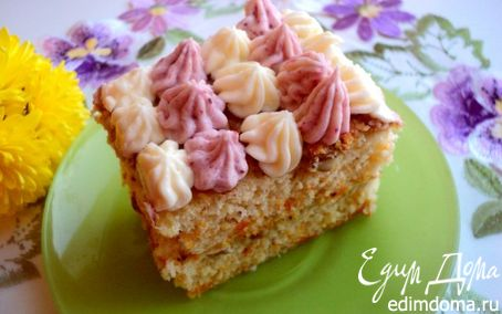 Рецепт Тыквенно-ореховое пирожное