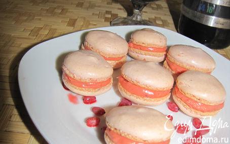 Рецепт Mакарон с барбарисовым курдом....продолжение ФЛЕШ-МОБа по macarons))))