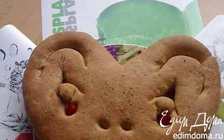 Рецепт Хлеб - смешная рожица для малышей в хлебопечке
