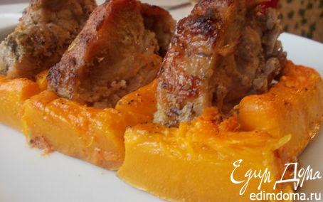 Рецепт Свинина с тимьяном и тыквой