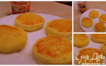 Рецепт Кукурузные ванильные сырнички
