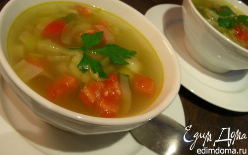 Рецепт Овощной суп с карри