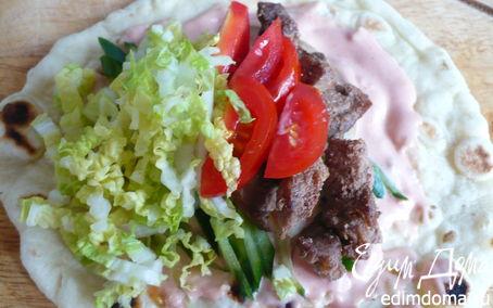 Рецепт Домашний лаваш с начинкой