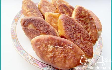 Рецепт – Пирожки с мясом, капустой и помидорами