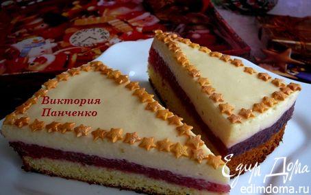 """Рецепт Пирожные """"Клубника в шампанском"""""""