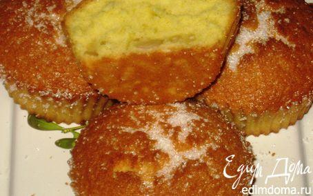 Рецепт Бисквитные кексы с кедровыми орешками