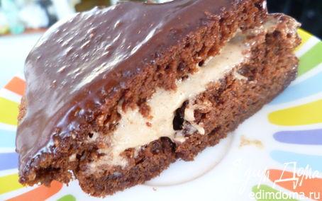 Рецепт Простой шоколадный тортик
