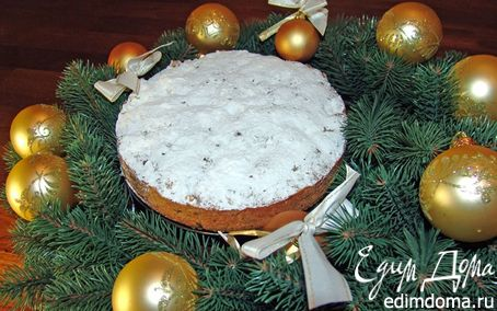 Рецепт Рождественский кекс (хранится 3-6 недель)