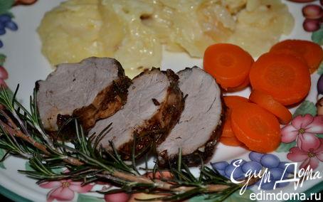 Рецепт Свиная вырезка в маринаде
