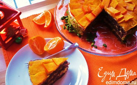 """Рецепт Торт """"Оранжевое настроение"""""""