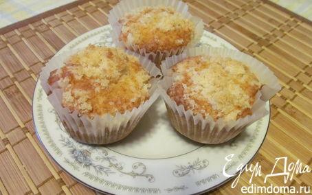 Рецепт Яблочные кексы со штрейзелем