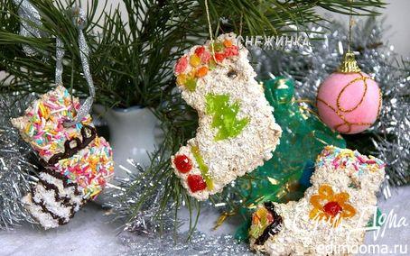 Рецепт Печенье-коржики «Рождественский сапожок»