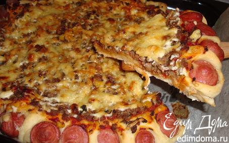 Рецепт Пицца с вкусным краешком