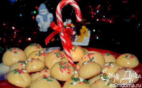 Рецепт Итальянское печенье с цветной крошкой