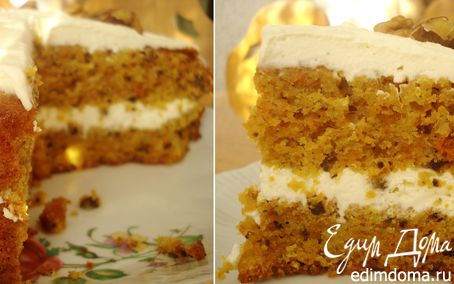 Рецепт Морковный торт / Carrot cake