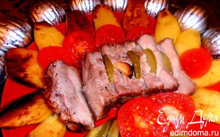 Рецепт Мясо в соляной избушке