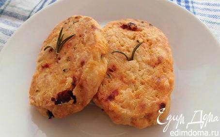 Рецепт Сырное печенье к шампанскому